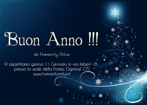 buon anno; humanity onlus;