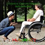 giornata mondiale disabilità; humanity onlus;